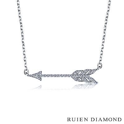 RUIEN DIAMOND 輕珠寶系列7分 14K白金鑽石項鍊