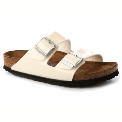 勃肯BIRKENSTOCK057663亞利桑那經典二條拖鞋(亮面珍珠)