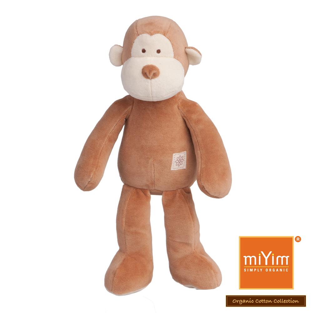 美國miYim有機棉安撫娃娃 故事書系列-布布小猴