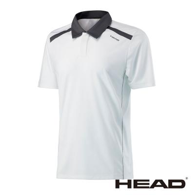 HEAD 吸濕排汗 男 POLO衫-白 811307