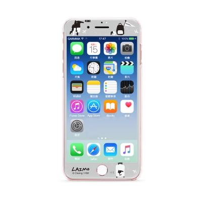 GARMMA LAIMO馬來貘 iPhone 7/8滿版鋼化玻璃膜 環遊世界