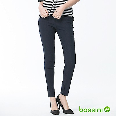 bossini女裝-超彈窄管褲18海軍藍