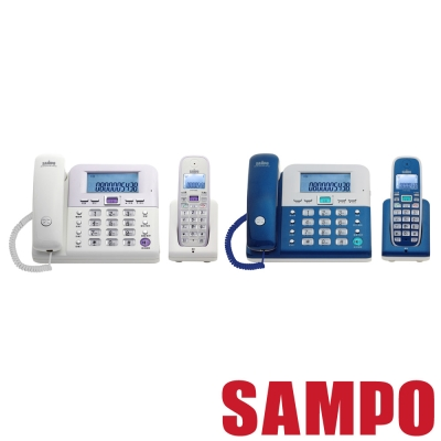 SAMPO聲寶 2.4Ghz高頻數位無線電話 CT-W1103NL