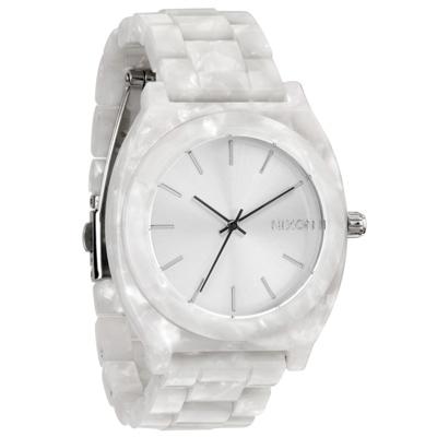 NIXON 絕代風華時尚玻麗腕錶(白)- 40 mm