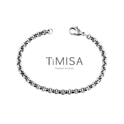 TiMISA《風之戀(S)》純鈦手鍊
