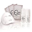 醫洗臉 經典旅行組-輕潤精華油15ml+舒活彈力潔淨慕斯30ml+瑞士雪絨花亮白面膜3片