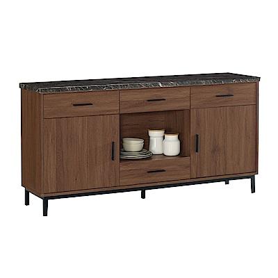 品家居 溫妮費5.2尺石面餐櫃下座-156.5x41.5x82cm免組