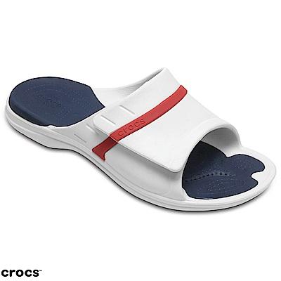 Crocs 卡駱馳 (中性鞋) 動力魔笛平底拖 204144-1C3