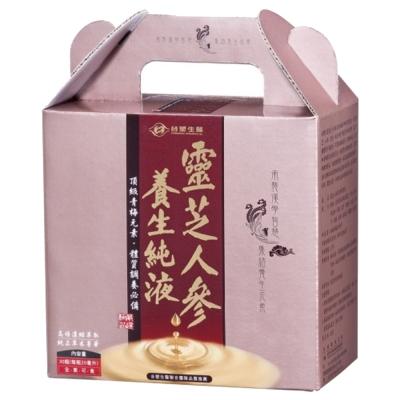 台塑生醫 靈芝人參養生純液 (20ml x30瓶)