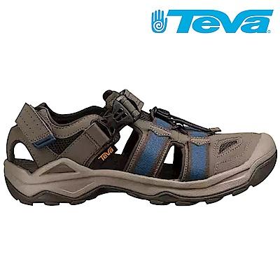 TEVA Omnium 2 男運動水陸涼鞋 藍橄欖綠