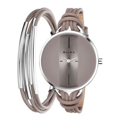 ELIXA-Finesse精巧時間皮繩系列X手環組