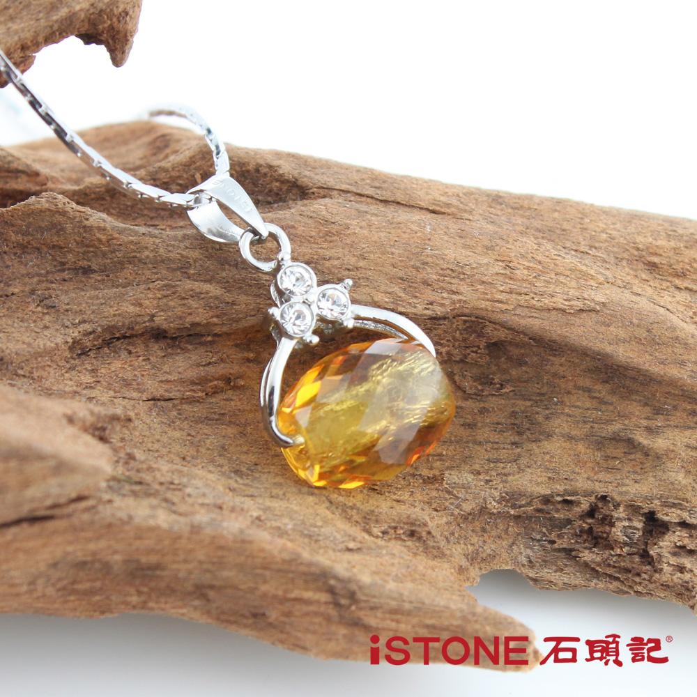 石頭記 水晶佳人-路路通純銀項鍊(共五色)