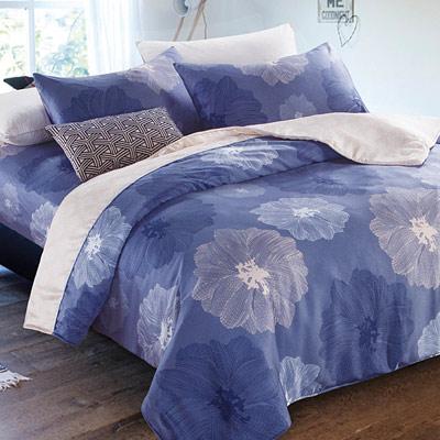 Saint Rose 夏至 雙人100%純天絲兩用被套床罩八件組