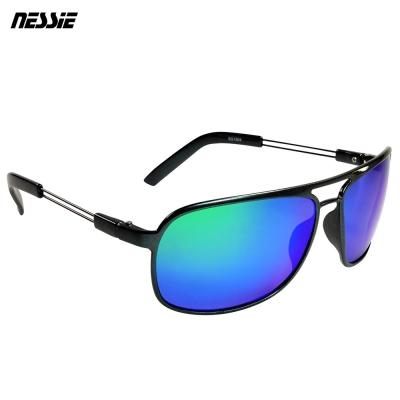 Nessie 尼斯眼鏡 經典休閒偏光太陽眼鏡 飛官灰藍