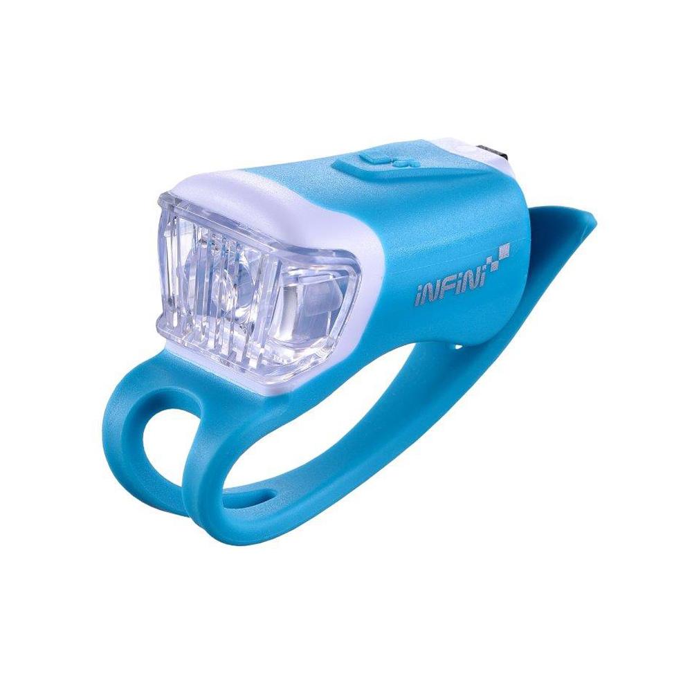 INFINI ORCA I-204W 鯨魚USB充電式白光警示燈 藍