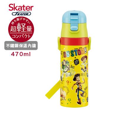 Skater不鏽鋼直飲保溫水壺(470ml)ToyStory