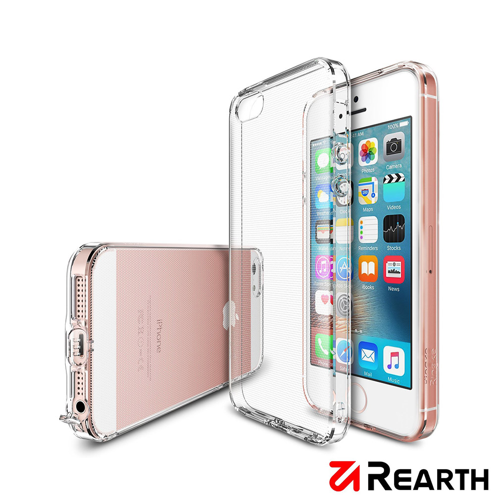 Rearth iPhone 5s/SE Air 輕薄保護殼 贈保貼