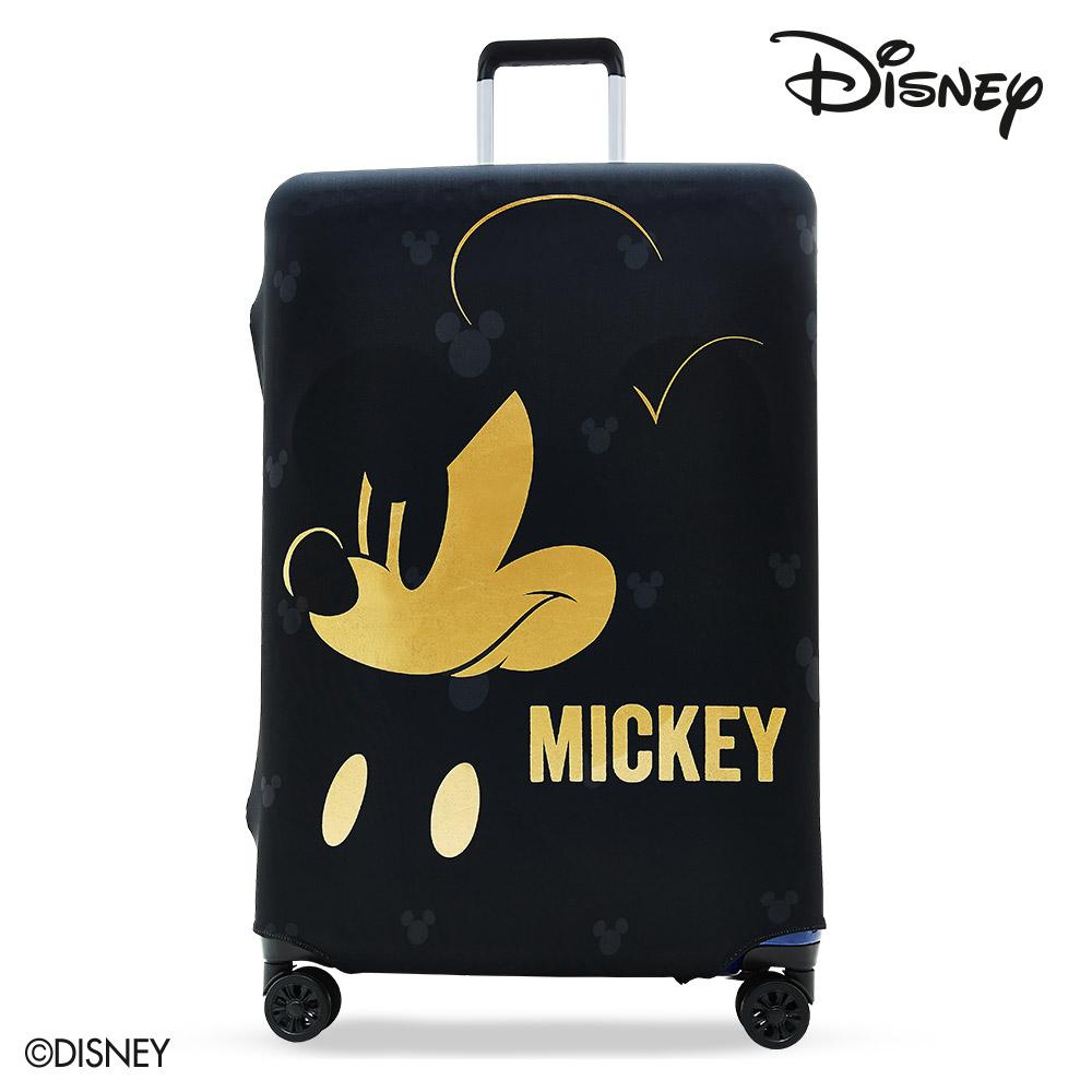 【Disney】迪士尼MICKEY彈性箱套-搖滾燙金L號