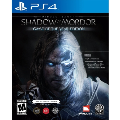 中土世界:魔多之影 年度完整版 Middle Earth-PS4英文美版