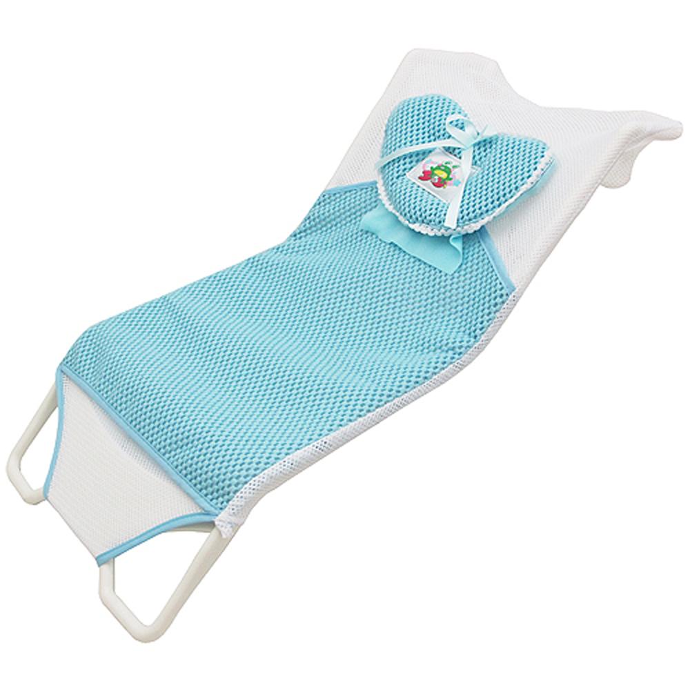 月陽56公分PP泡棉層可拆洗嬰幼兒沐浴床沐浴架浴網 (DB-6705)