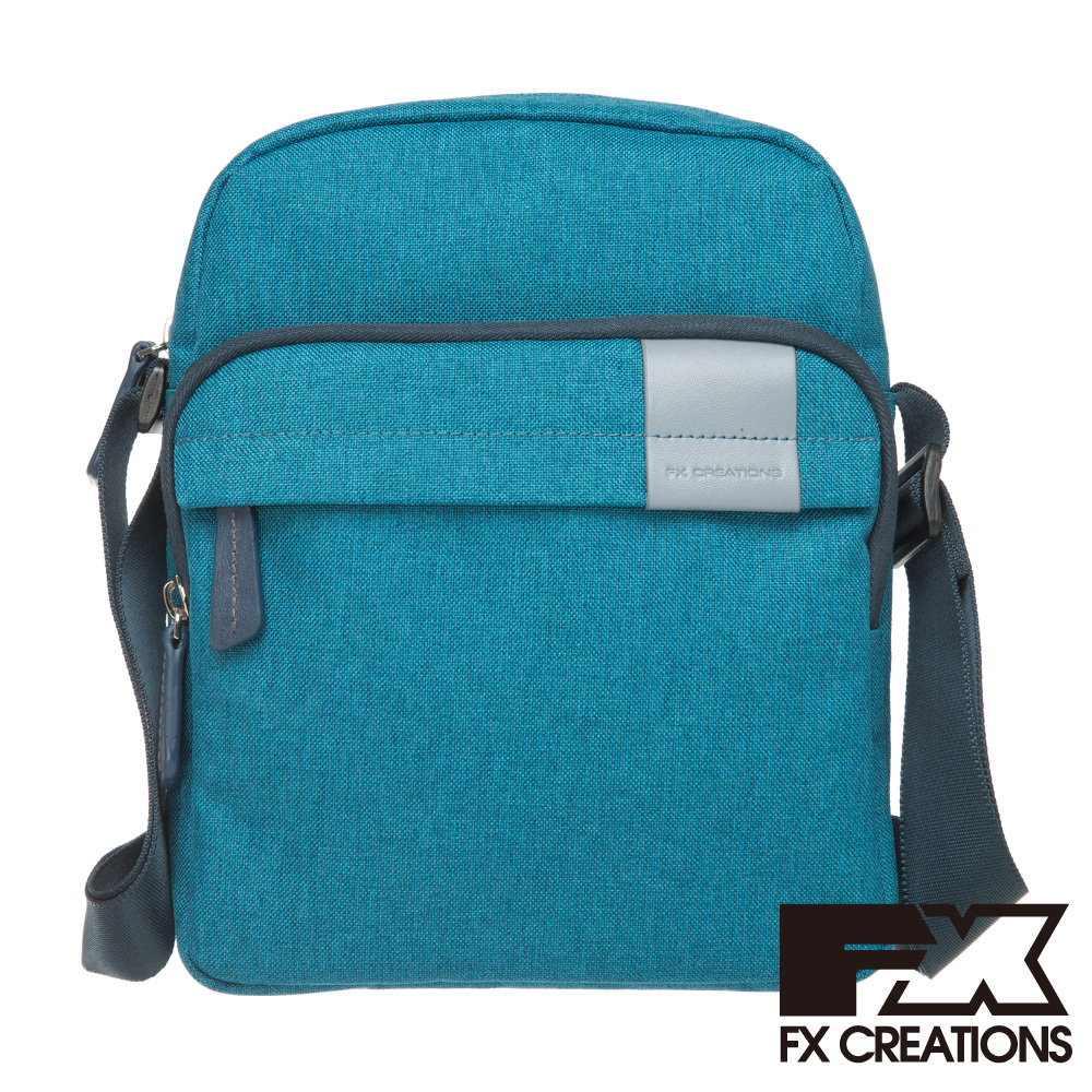 FX CREATIONS-Lanford系列 直式側背包(小)-藍 LZZ21452-52