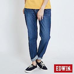EDWIN MISS503隨性男友褲-女-中古藍