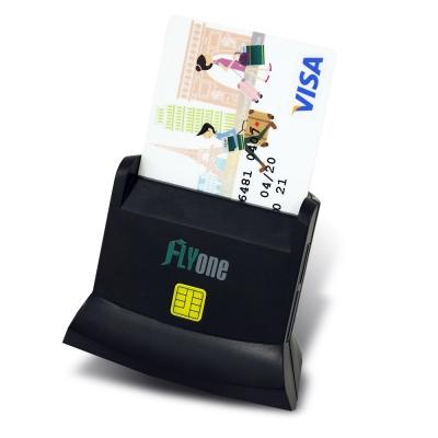 FLYone A200【專利認證】多功能ATM晶片+SD/TF記憶卡讀卡機