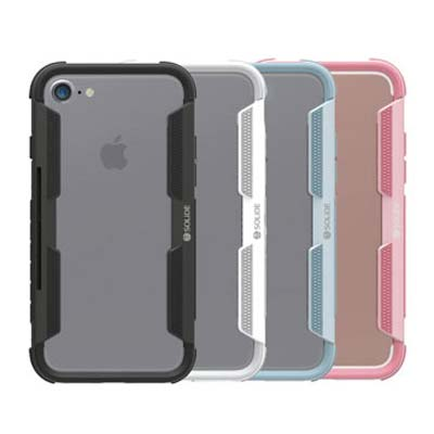 SOLiDE 阿瑞斯 可插卡軍規防摔 iPhone 7 4.7吋 手機殼