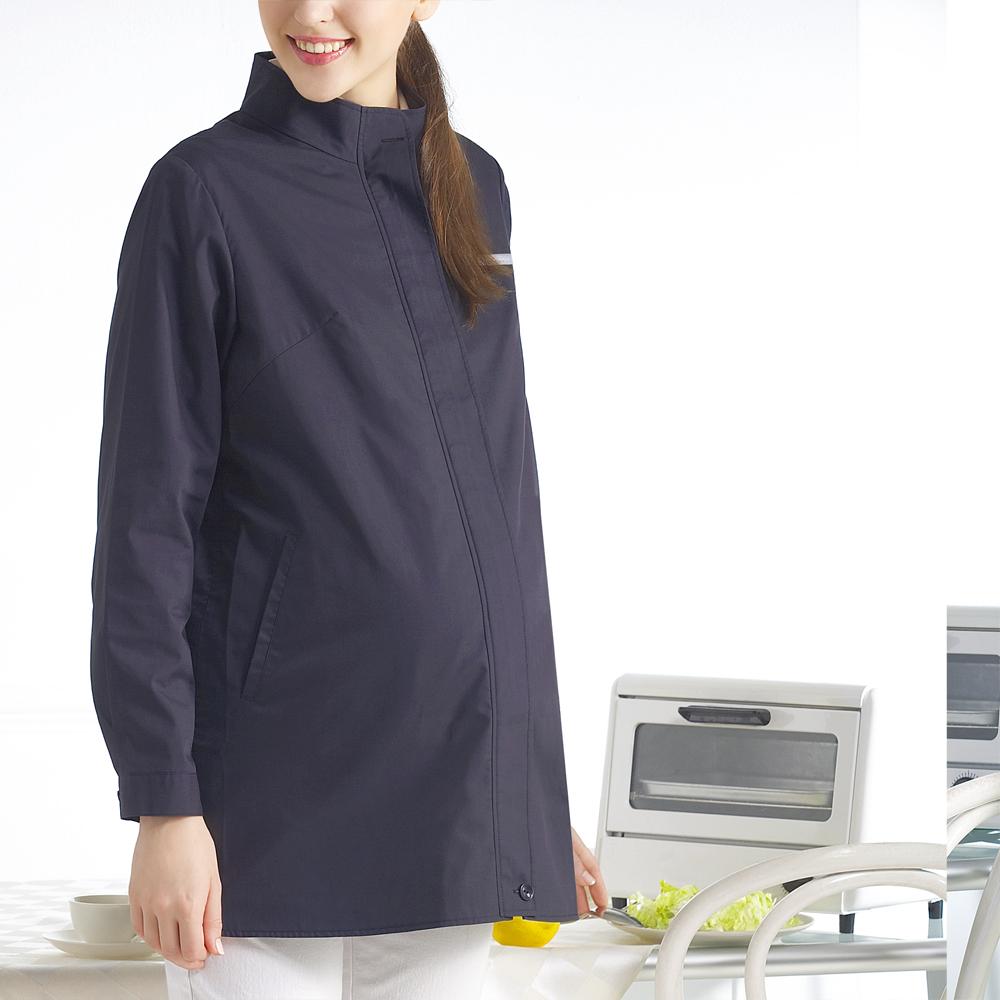 六甲村健康防護衣/立領長袖外套/寧靜藍