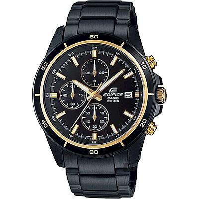 CASIO 卡西歐EDIFICE 經典賽車計時手錶 EFR-526BK-1A9VUDF