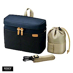 SONY NEX多功能組合式通用相機包(LCS-BBK)黑藍色
