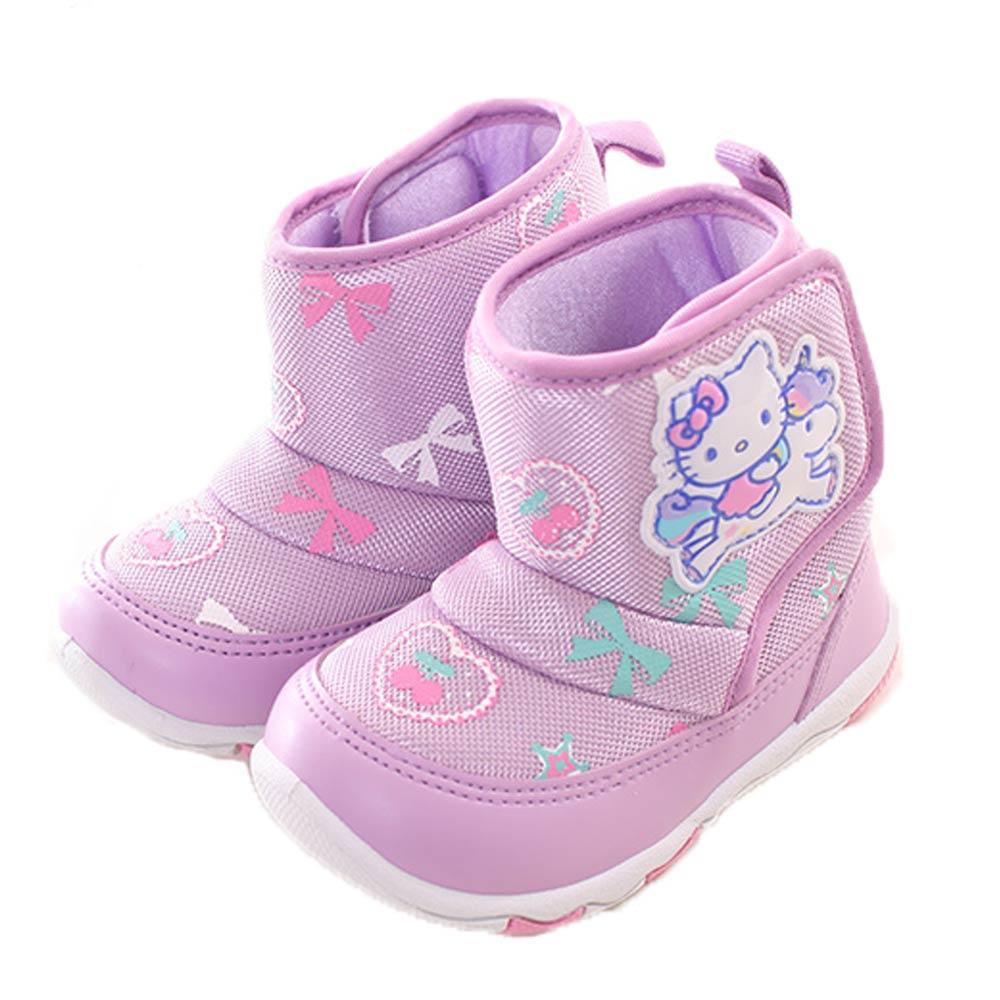 Hello kitty魔鬼貼雪靴 紫 sk0252魔法Baby
