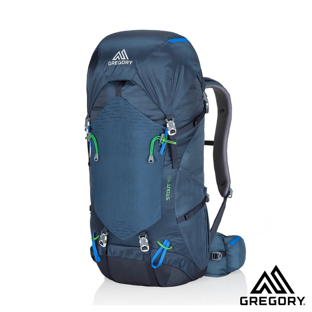 買就送攻頂包★Gregory STOUT 45L 登山背包 海軍藍
