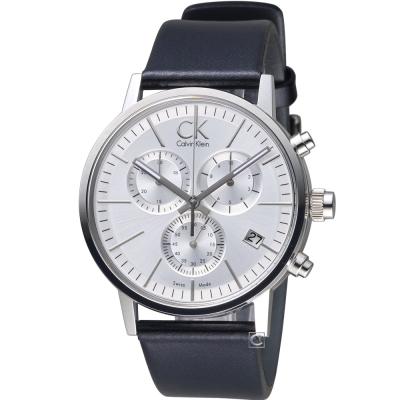 Calvin Klein Post Minimal  計時腕錶(K7627120)42mm