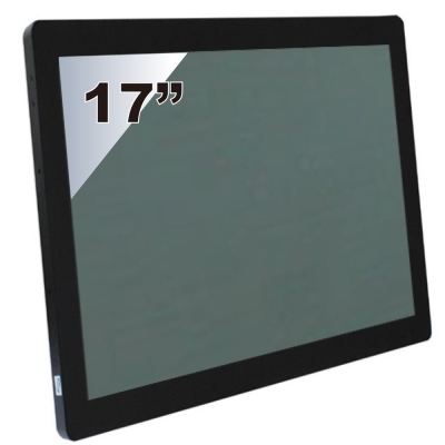 Nextech P系列 17吋-室外型 電容觸控螢幕(前防水+高亮度)