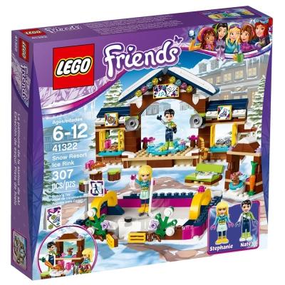 LEGO樂高 Friends系列 41322 滑雪渡假村溜冰場