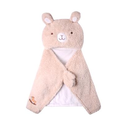 baby童衣 多功能造型羊羔絨披肩 包被 抱枕 被毯50597