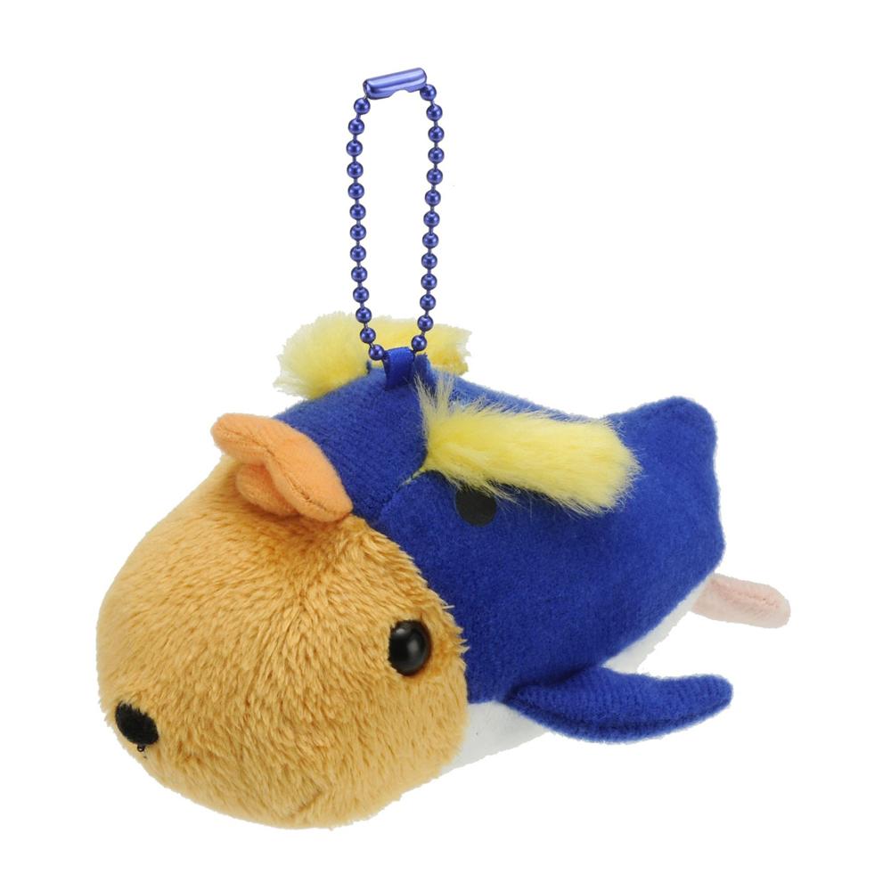 Kapibarasan 水豚君海洋便裝系列公仔吊飾。水豚君