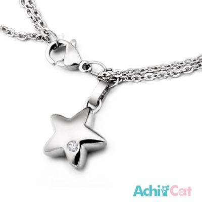 AchiCat 珠寶白鋼手鍊 仲夏之星