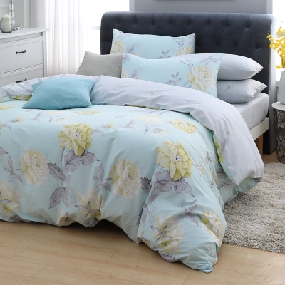 MONTAGUT 波昂的夏日 100%純棉兩用被床包組 加大