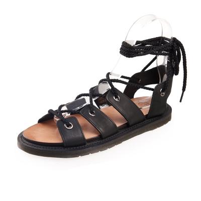 (女) Dr.Martens JASMINE 綁帶羅馬涼鞋*黑色