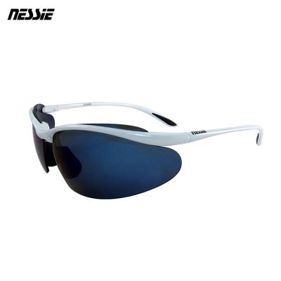 Nessie 尼斯眼鏡 專業運動偏光太陽眼鏡-亮白