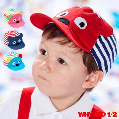WHY AND 1/2 兒童帽 普普熊帽簷多色可選