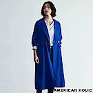 AMERICAN HOLIC 俐落剪裁綁帶風衣外套