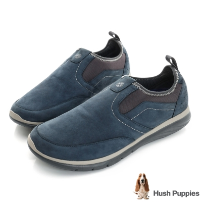 Hush Puppies ZEBULON 直套式健走鞋-深藍色