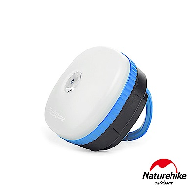 Naturehike 迷你防水四段式LED磁性多功能手電筒帳篷燈 營燈 藍色-急