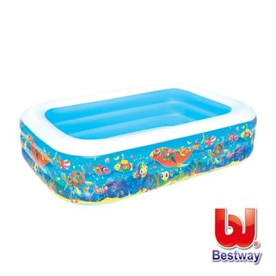 《凡太奇》Bestway。海洋生物充氣球/泳兩用池