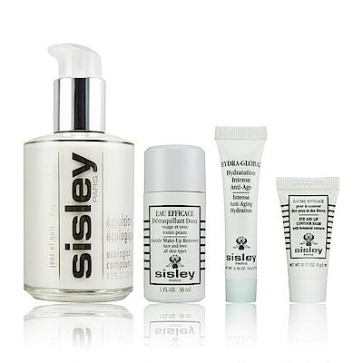 sisley 全能乳液極淨護膚禮盒 (乳液+卸妝液+精華+保濕凝露)