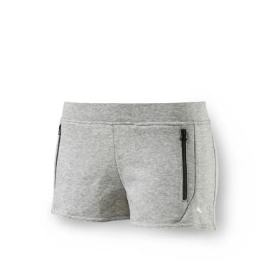 PUMA - 女性 法拉利經典系列棉短褲-淺麻花灰