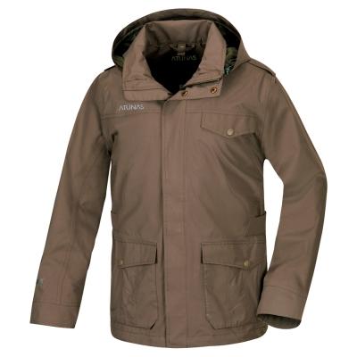 歐都納 GORE-TEX 男款防水二件式科技保溫棉外套 A-G1562M 深棕